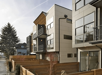 NoJo Rowhomes – Modern Design on 12th