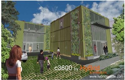 Georgetown Building Fashioned Out of Cargo Containers