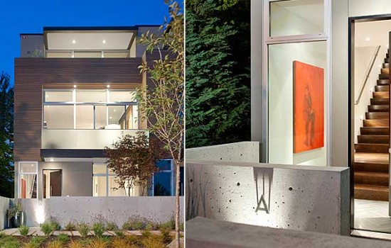 Pb Elemental Designed Lake Washington Townhomes