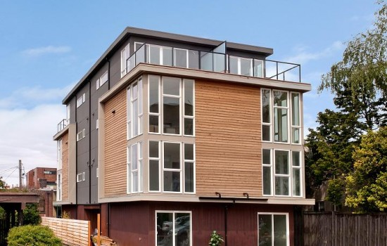 Contemporary Townhouses on Capitol Hill