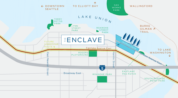 Enclave Lake Unions Enclave Sales Center Opens