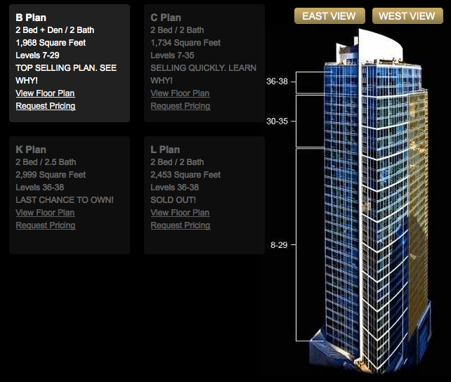 1521floorplan 1521 Luxury Condos At 80% Sold