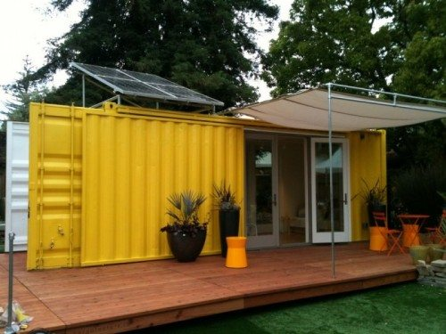 cargotecture Live Off The Grid in 192 Sq Ft Container