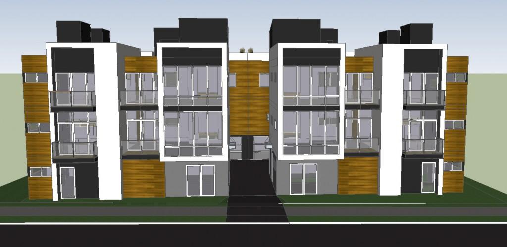 Modern fourplex gallery for Fourplex designs