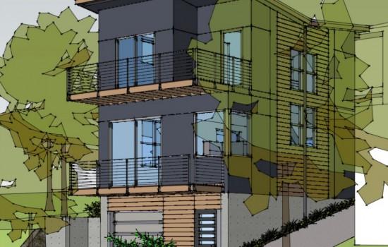Modern, Modular Prefab Home in Madison Valley