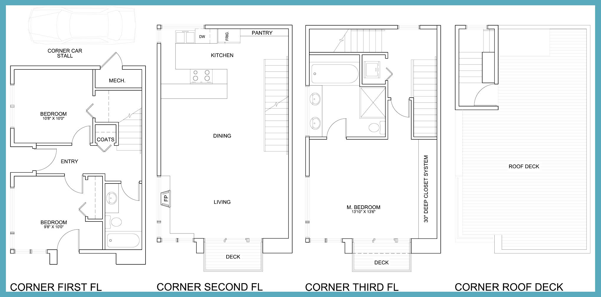 Malden 8 Renderings and Floor Plans