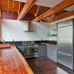 2930 Harvard Ave E Kitchen 150x150 Contemporary Loft Townhome in Eastlake