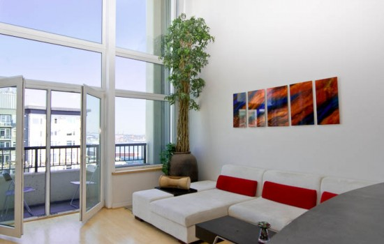 Short Sale Penthouse Loft at the Klee