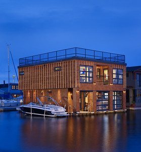 Lake Union Float Home by Design Northwest