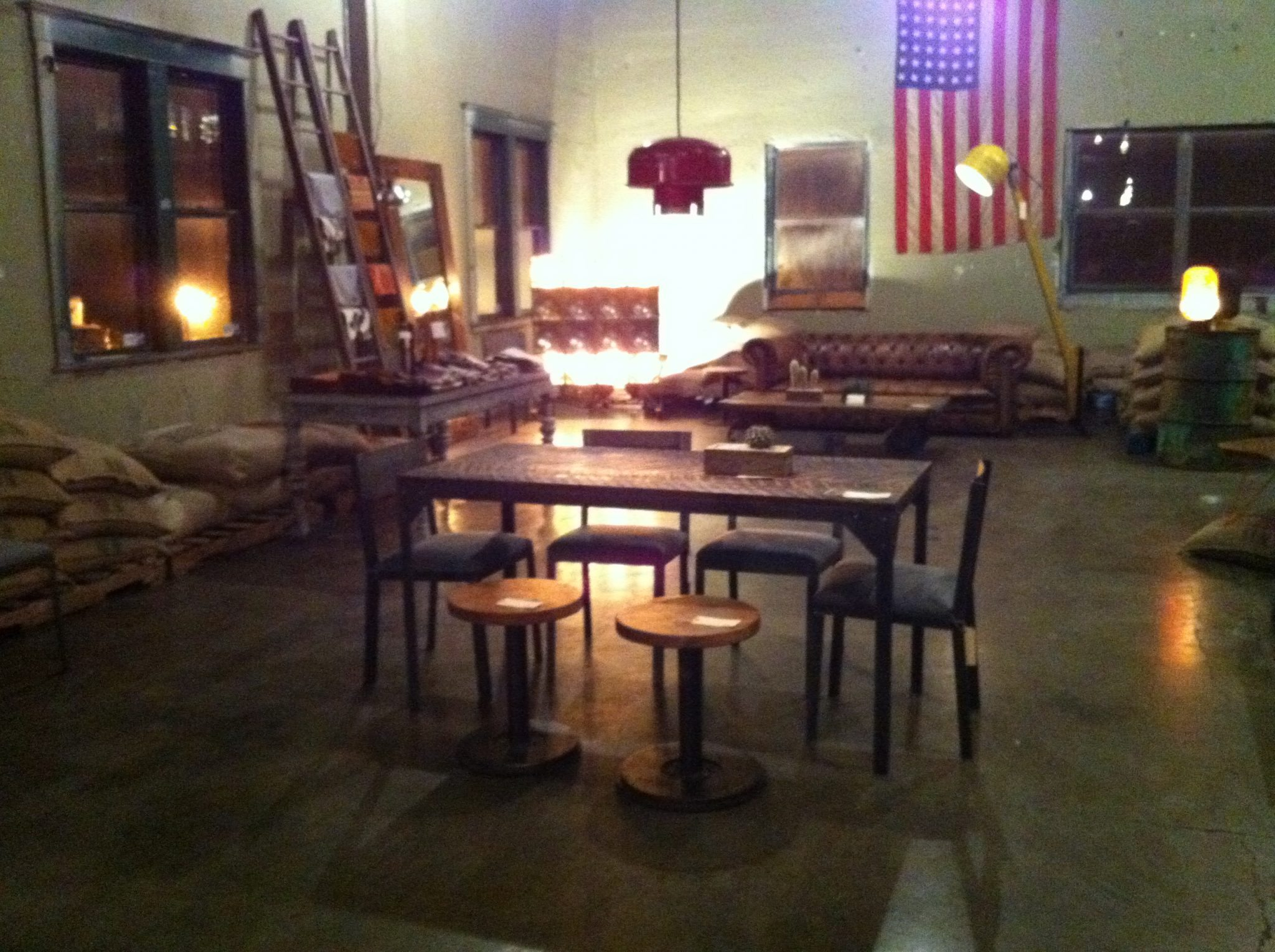 New Furniture Line @ Cafe Vita Pop Up