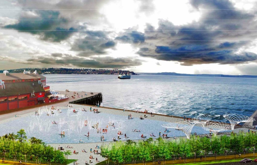 thecloud Notes on the Seattle Waterfront Plan