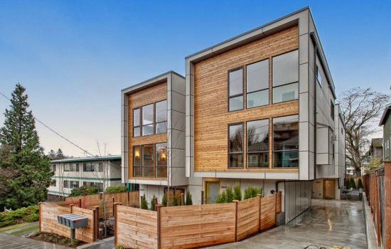 New Modern Townhouses in Fremont