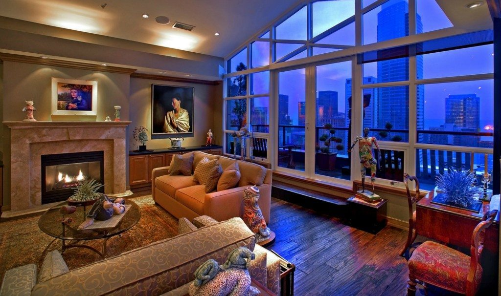 1420 Terry Ave 2701 Living Room Meridian Penthouse
