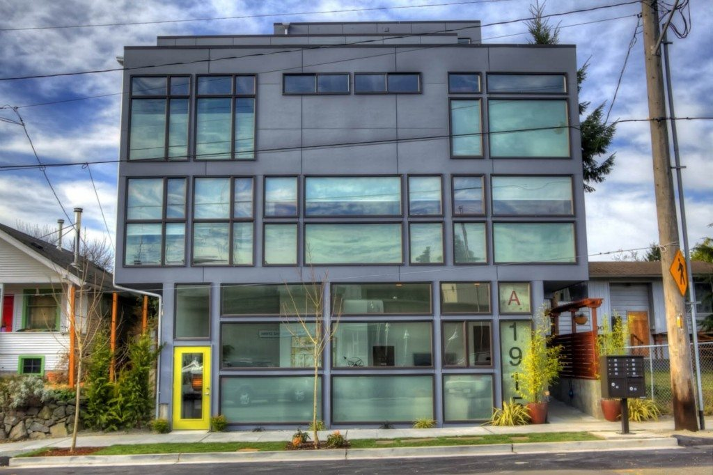 1915 25th Ave S Exterior Mount Baker Modern Townhouse Lofts