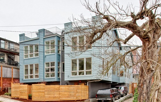 Six Bank-Owned Townhouses in Queen Anne