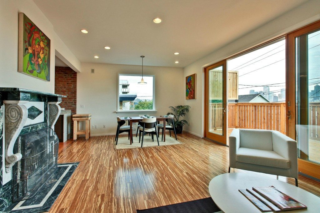 314 Aloha St Living Room Has Potential: QA Modern & Contemporary Fusion