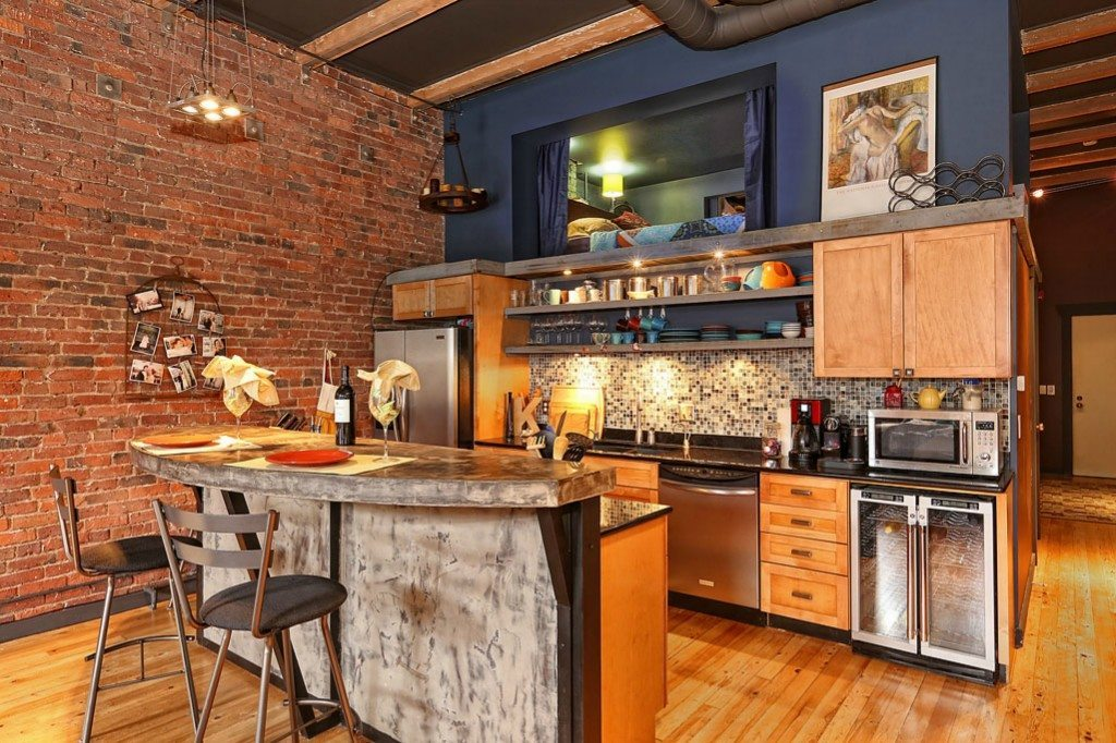80 S Jackson St Kitchen Big Loft In Pioneer Square