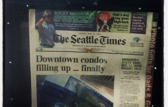 Seattle Condos Are Front Page News