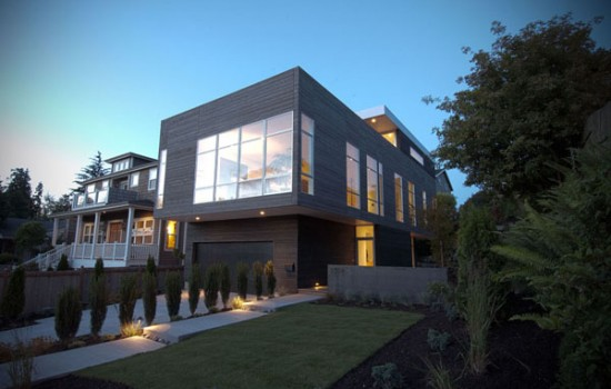 Modern GREEN Magnolia Open House This Weekend
