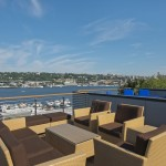 Killer Rooftop Deck Overlooking Lake Union