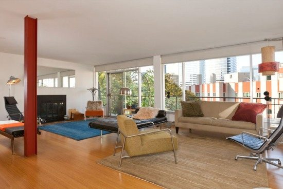 Talisman Mid Century Modern Penthouse on First Hill