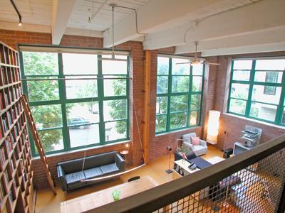 Belltown Loft with Built-In Bookcase on the Market