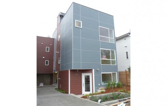 Update: South Seattle Newly Built Tri-Level Unit: $375,000