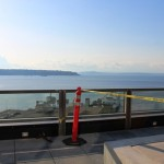 Unobstructed view of Elliott Bay and Olympic Mountains
