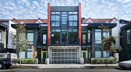 The center unit, 1816 11th Ave Unit B, just sold for $434,000