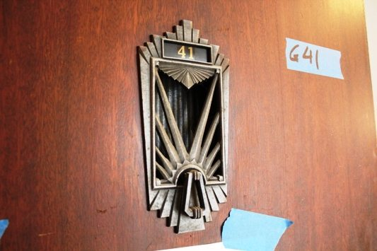 Original Art Deco Hardware