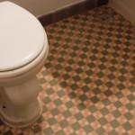 Original bathroom tile in some vintage apartments