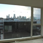 View of Downtown Seattle skyline from south-facing unit on 4th floor