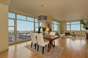 Modern Lower Queen Anne Condo with Space Needle Views