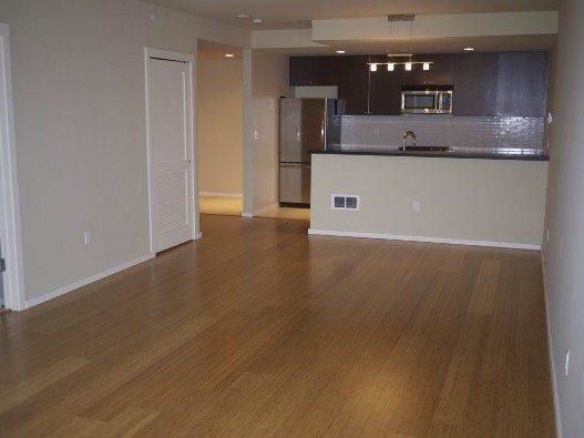 Bamboo floors at 76 Cedar St #804