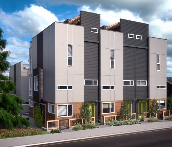 Update: Isola Homes' Eastlake6 Townhouses