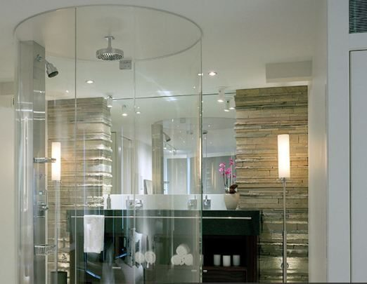 Glass Shower in Belltown condo