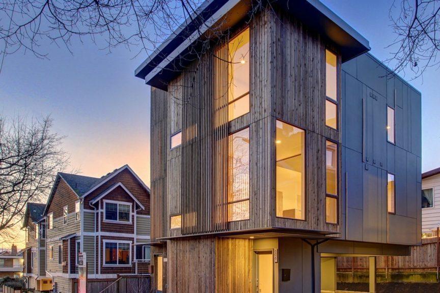 Ballard New Construction Duplex Urban Living