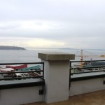 View of Puget Sound from private, wrap-around deck