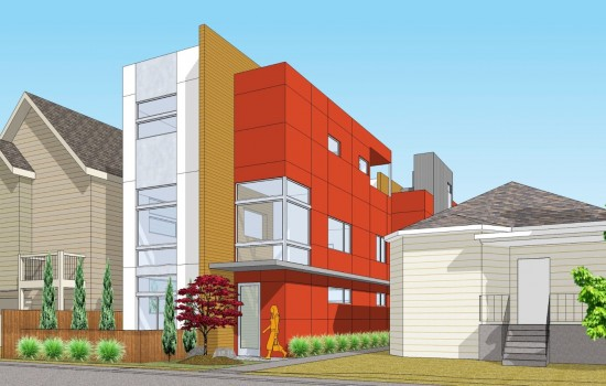 Coming Soon: Contemporary Homes at 18th and Columbia