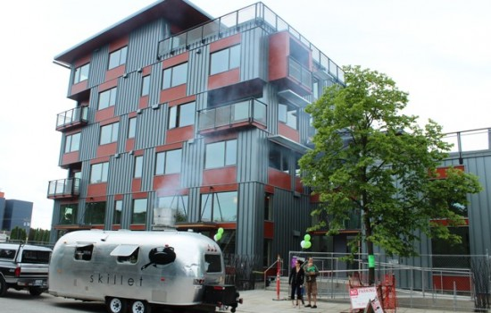 Greenfire: New Boutique Apartment Building in Ballard that's eco-friendly and cool
