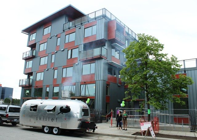Cool Apartment Buildings greenfire: new boutique apartment building in ballard that's eco
