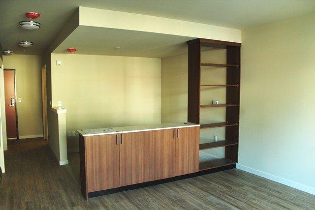 """""""Open"""" one bedroom unit"""