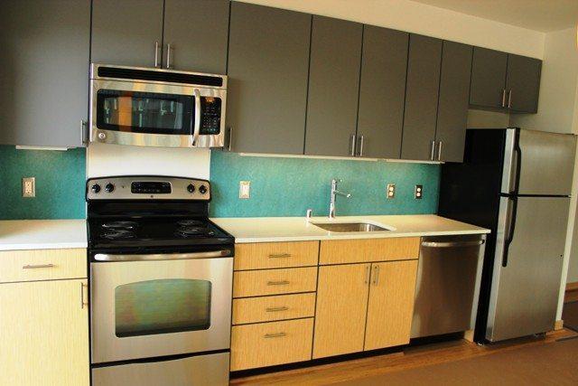 A standard kitchen