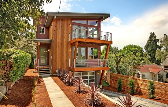 Sweet Contemporary New Construction in Fremont