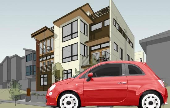 Buy a Townhouse, Get a Car!