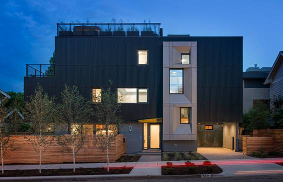 Park Passive Exterior Seattles First Certified Passive House
