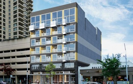 Watch Modular Apartments Get Stacked This Weekend