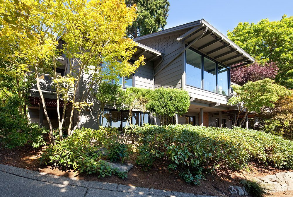 815 Hillside Dr E Exterior George Suyama Remodel in Washington Park