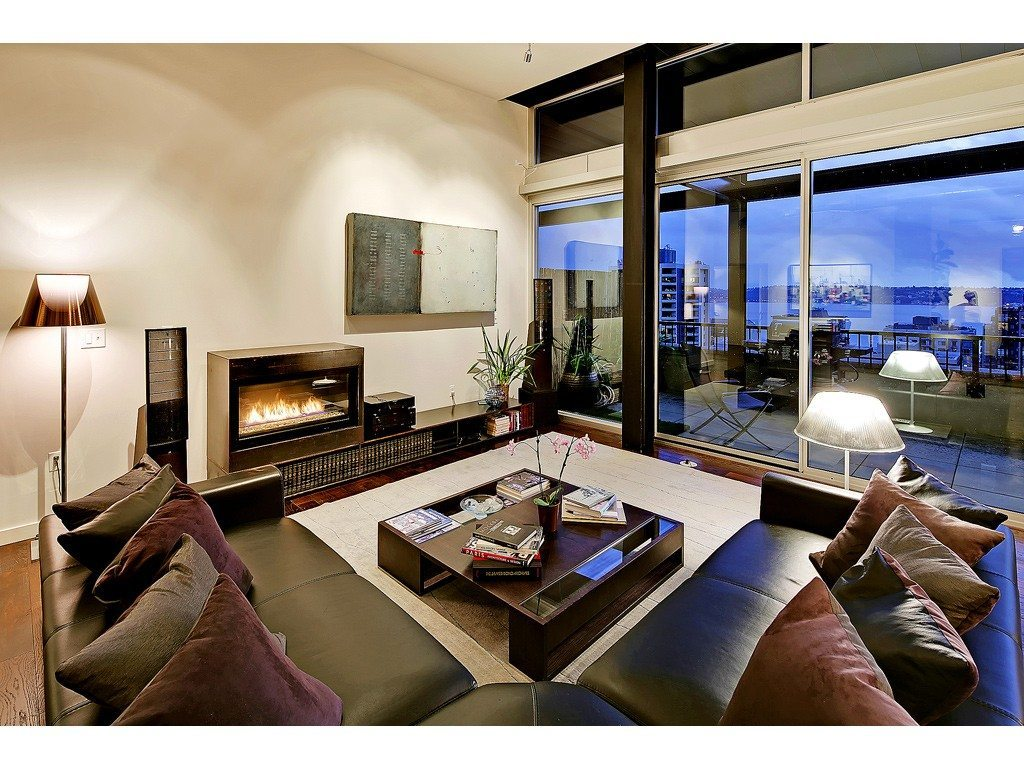 2720 3rd Ave Fireplace Mosler Lofts Penthouse
