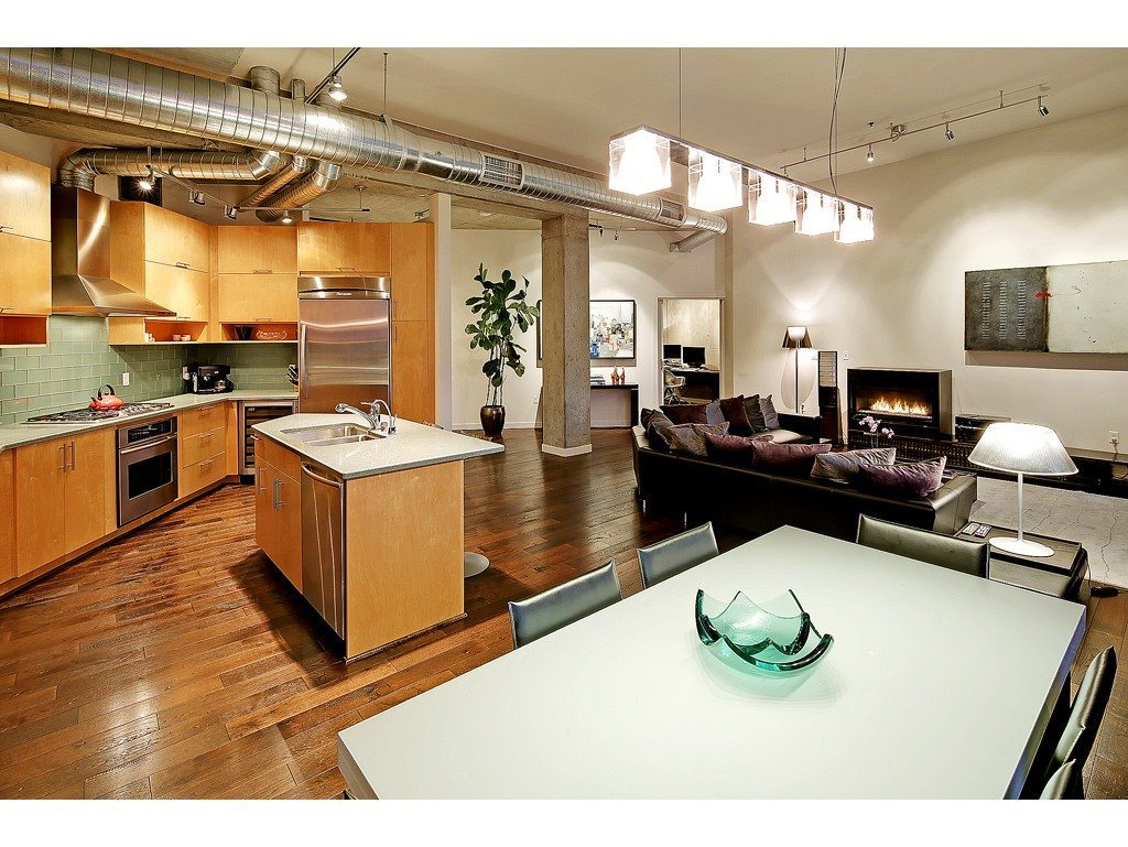2720 3rd Ave Living Mosler Lofts Penthouse